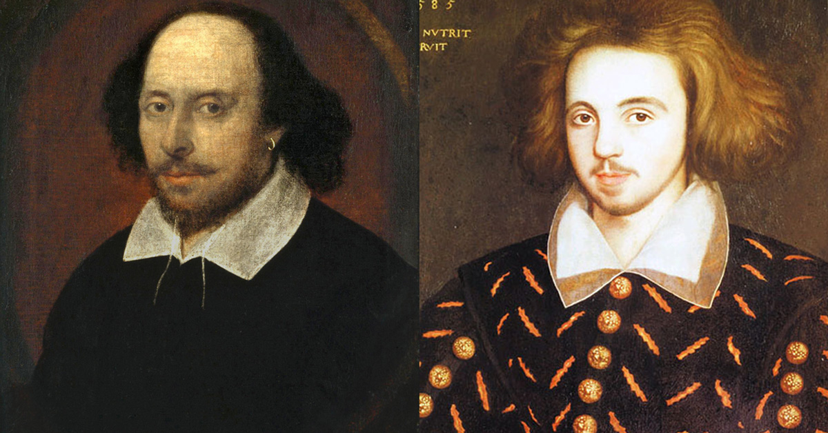 William Shakespeare and Christopher Marlowe