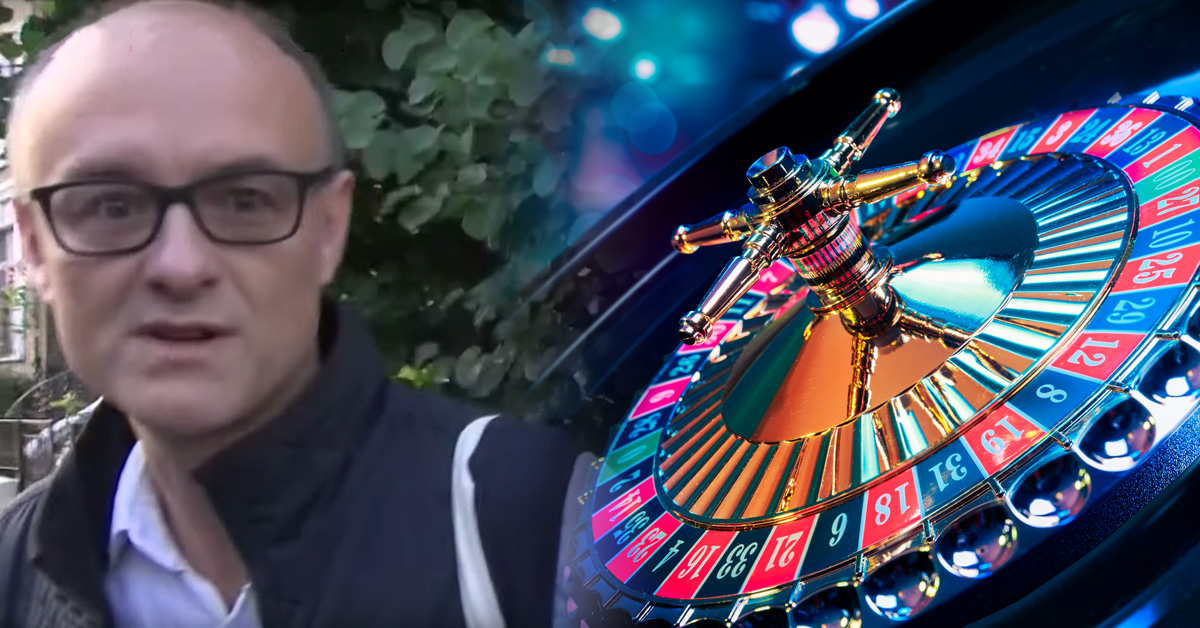 Dominic Cummings and Roulette Wheel